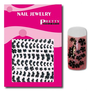 Nail-Art Collection black NB10 color